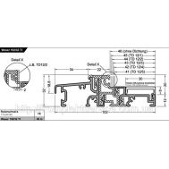 Дверной порог Weser 102/32 TI от Gutmann AG, EV1