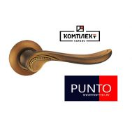 Дверная ручка Punto  Arfa TL CF-17 кофе