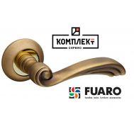 Дверная ручка Fuaro Opera RM AB/GP-7