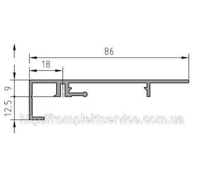 Защита рамы BUG-Alutechnik (Rahmenprofil 600 120)