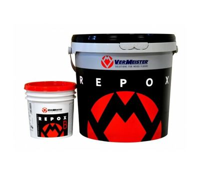 Паркетный клей двухкомпонентный  Repox 10 кг