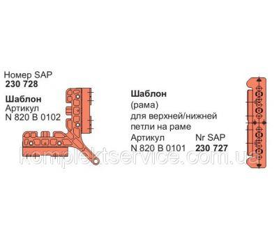 Шаблоны для установки фурнитуры Roto NT