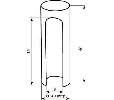 Технические размеры 3D/14мм STV SC14