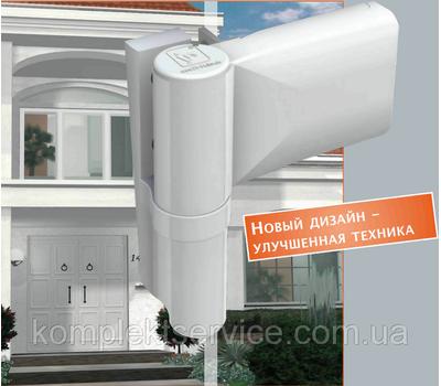 Дверная петля Dr. Hahn KTV 6R белая (наплав 18-23 мм)