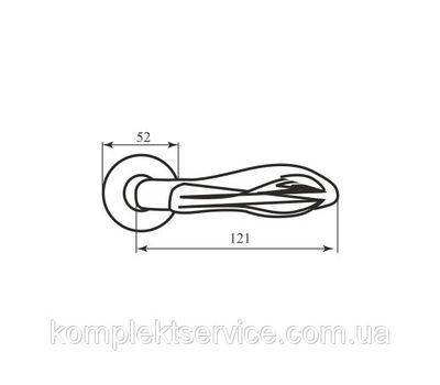 Технические размеры ручки АС0383
