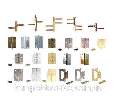 Установка дверных петель Fuxia и RDA