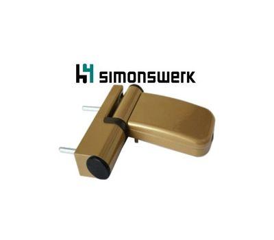 Дверная петля Simonswerk Siku 3D K3035, бронза