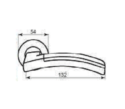 Технические размеры ручки Ларжио