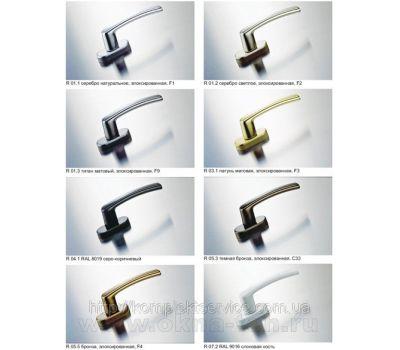 Оконные ручки RotoLine