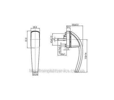 Технические размеры Roto Swing Secustik