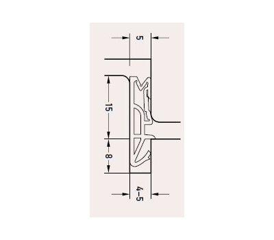 Технические размеры  Deventer  SV155