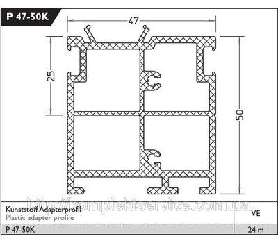 Технические размеры дверного порога Weser 86/32