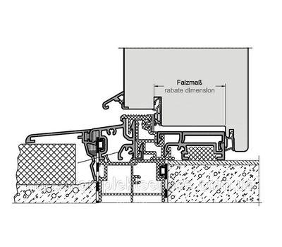 Техническая схема уплотнителя TD 12/3