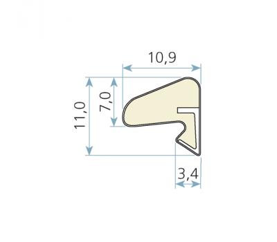 Технические размеры  Schlegel Q-Lon 3037