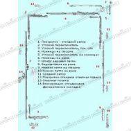 Поворотно-откидная фурнитура Roto NT для окон из ПВХ