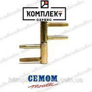 Дверная 4-х штыревая петля Cemom D16