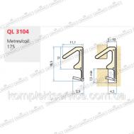 Уплотнитель для дверей Schlegel  Q-Lon  3104