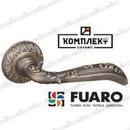 Дверная ручка Fuaro Bohemia SM MAB-6 темная бронза