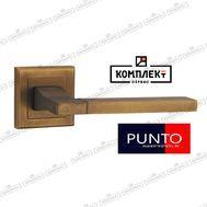 Дверная ручка Punto Tech QL CF-17 кофе