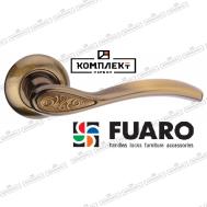 Дверная ручка Fuaro Aria RM CFB-18 кофе глянец
