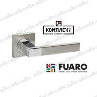 Дверная ручка Fuaro Ethno KM SN/CP-3