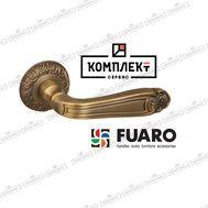 Дверная ручка Fuaro Louvre SM AB-7 матовая бронза