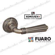 Дверная ручка Fuaro Demetra SM AS-3 античное серебро