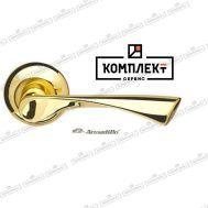 Дверная ручка Armadillo Corona LD23-1GP/SG-5 золото/матовое золото