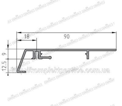 Защита рамы BUG-Alutechnik (Rahmenprofil unten 600 131)