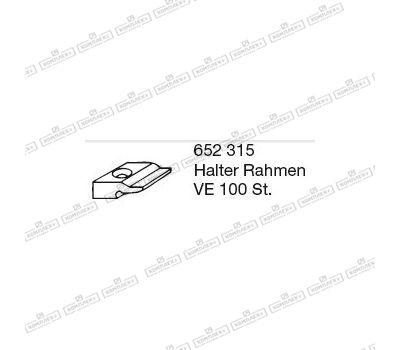 Держатель рамы BUG-Alutechnik (Halter Rahmen 652 315 )