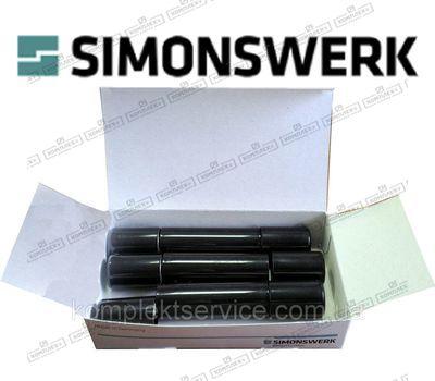 Комплект коричневых колпачков на петли Simonswerk