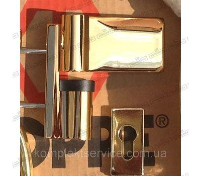 Дверная петля Dr. Hahn KTV 6R зол.глянцевое