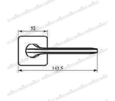 Технические размеры ручки Робокватро 51