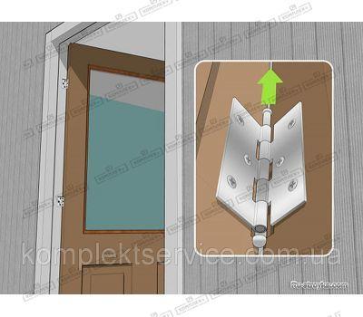 Установка дверных петель Fuxia