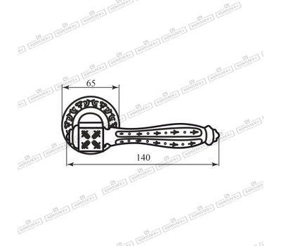 Технические размеры ручки Рома