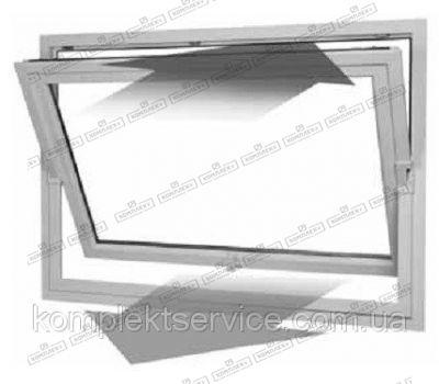 Горизонтально подвесное окно Hautau