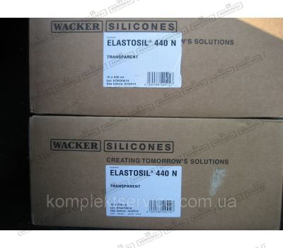 Упаковка силикона Elastosil® 440