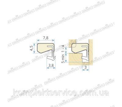 Технические размеры  Schlegel Q-Lon 3070